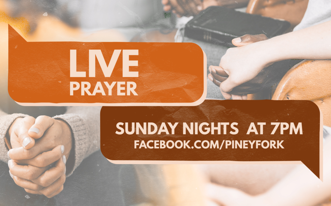 Live Prayer | Sundays this Summer