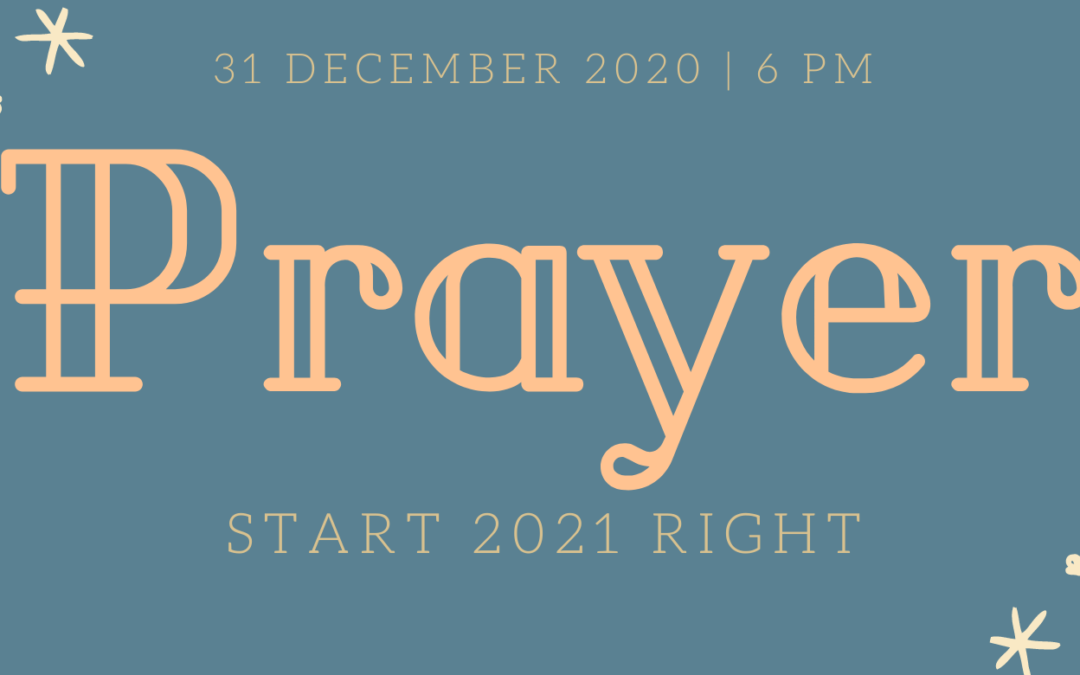 New Year's Prayers 2021